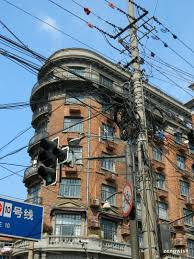 file messy wires in fornt of wukang building panoramio jpg