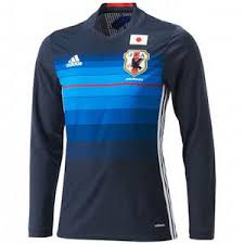 desain kaos futsal jepang jersey jepang home lengan panjang 2016 adidas jual jersey jepang