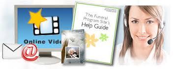 Funeral Programs Online General Faqs