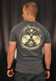Wild Fire Tees by Drip Can Wildland Firefighter T Shirt Antique Denim Grey Black