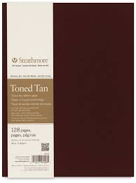 strathmore hardbound toned sketch journal blick art materials