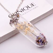 bottle necklace pendant images Diy sand and sea shell glass bottle necklace pendant long chain jpg