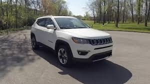 jeep compass white 2017 jeep compass limited 4x4 walk around in depth review