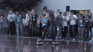 lexus hoverboard being ridden tony hawk volunteers ride hendo u0027s latest hoverboard video