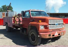 Ford F700 Hood And Fenders - 1993 ford f700 service truck item l4753 sold september