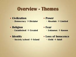 lord of the flies themes and messages lord of the flies an introduction pwpt 1