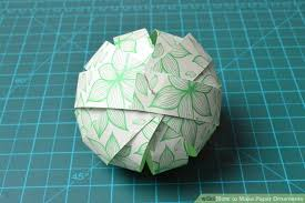 3 ways to make paper ornaments wikihow