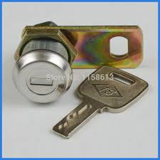 cabinet keyed cam lock 10 pieces 17mm waterproof dustproof keyed alike flat key cam lock