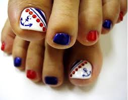 best 25 toe nails red ideas on pinterest 4th of july nails