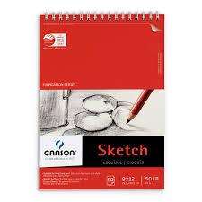 sketch pads books spiral bound