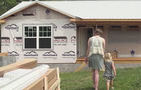 Build A New House Burn Victim Mom Left By Cruel Husband U2014 And Finds Her Happy Ending