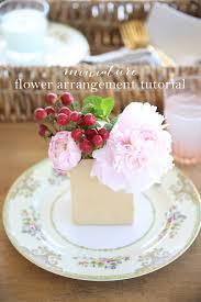 How To Make Floral Arrangements Miniature Flower Arrangements A Step By Step Tutorial