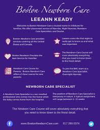 Infant Nanny Resume Overnight Newborn Care Baby Sleep Specialists Nanny Agency