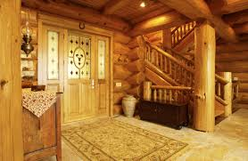photo gallery of log and timber homes from nicola logworks
