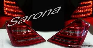 2010 s550 tail lights mercedes s class sedan tail lights 2007 2009 590 00 part mb