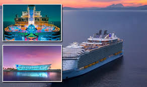 cruise ship the world royal caribbean s new cruise ship symphony of the seas will be
