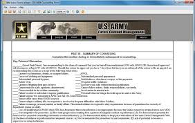 Da Form 4856 Initial Counseling Fillable Initial Counseling Statement Best Template Collection