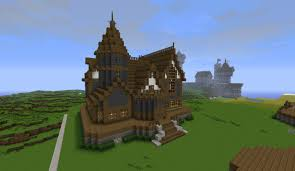 minecraft victorian house by