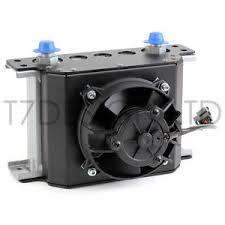 oil cooler with fan 115mm 16 row oil cooler fan shroud kit push fan engine