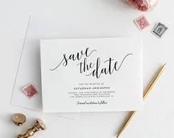 Save The Date Cards Wedding Save The Dates Etsy