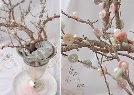Tree Branch Centerpiece Buttons U0026 Pearls Elegant Cherry Blossom Tree Centerpiece