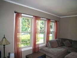 Curtains For Large Picture Window Dining Room Amazing Big Window Curtains Teawingco Treatment Ideas