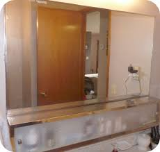 medicine cabinet with electrical outlet luminous left recessed
