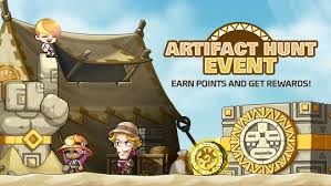 win artifact points maplestory artifact hunt event