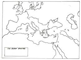 Blank Map Of North Africa by Blank Map Of Roman Empire Cc History Pinterest Roman Empire