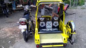 philippine motorcycle taxi honda 155 setup sidecar iloilo youtube