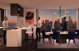 What Is An Open Floor Plan by One Manhattan Square Lower East Side Condominium Tower