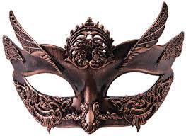bronze steunk masquerade mask masks