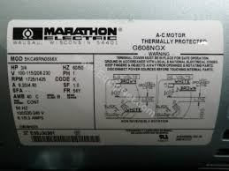 scintillating here is an example of marathon electric motors