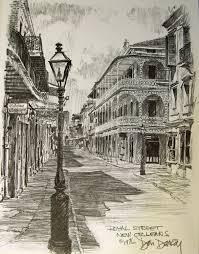 amazon com royal street don davey new orleans matted art print