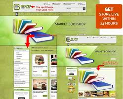 fresh green theme html template for ebay book store 29 99 great