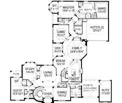 european style house plan 5 beds 6 00 baths 5956 sq ft plan 141 162