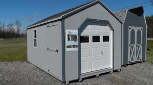 10x20 Garage 10 U0027 X 16 U0027 Portable Garage Shed Atv And Motorcycle Storage Shed