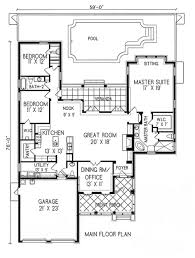 hacienda house plans spanish colonial courtyard home plans