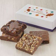 thanksgiving gourmet brownies delivered fairytale brownies