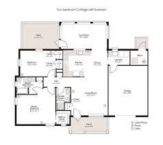 two bedroom cottage floor plans senior living lancaster pa calvary fellowship homes