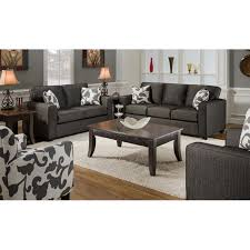 bergen fabric accent chair with tapered legs dcg stores Living Room Sets With Accent Chairs