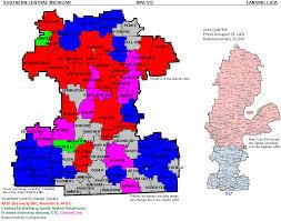 area code map of michigan central michigan telecom michigan