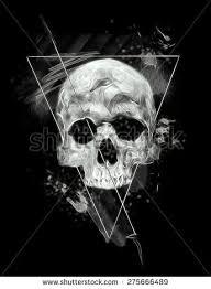 skull printskull illustrationevil skullconcert postersskull canvas