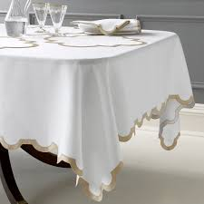 dining room oval dining room table pads made of white linen cloth