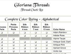 10 essential embroidery color conversion charts embroidery
