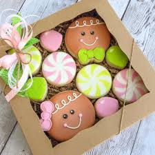 gingerbread box set christmas christmas cookies pinterest