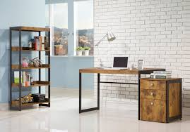 Home Office Furniture Indianapolis Coaster Estrella Industrial Computer Desk With Metal Frame