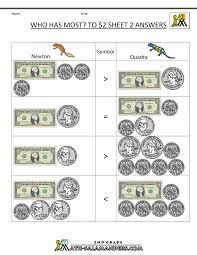 money math worksheet worksheets