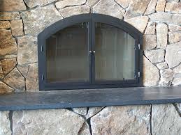 decorative arched fireplace doors latest door u0026 stair design