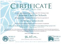 christmas cards for schools profits the environment christmas